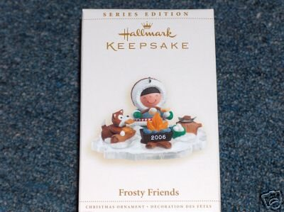 FROSTY FRIENDS 27th in Series Hallmark 2006 Ornament Smores