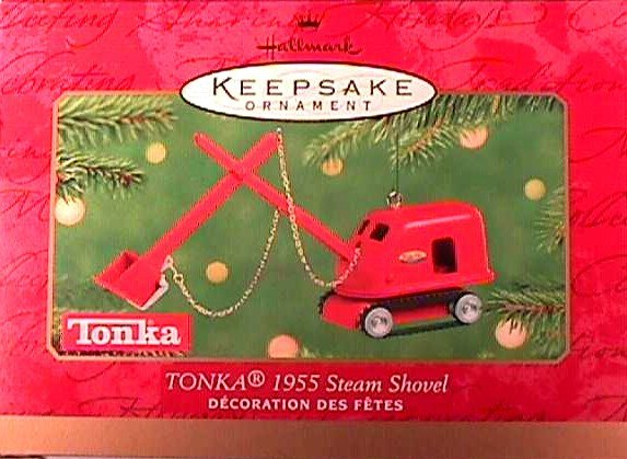 TONKA 1955 Steam Shovel Hallmark 2001 Ornament