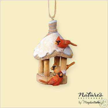 2006 Hallmark Marjolein BASTIN Nature's Sketchbook Birdhouse Ornament #4