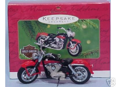 1957 XL Sportster -Harley-Davidson Motorcycle Hallmark 2001 Ornament