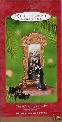 The MIRROR of ERISED Harry Potter Hallmark 2001 Ornament