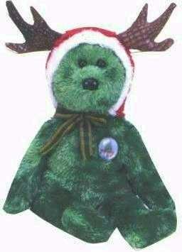 Ty 2002 HOLIDAY TEDDY Beanie Baby