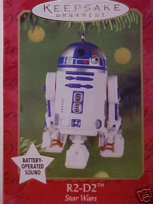 Talking R2-D2 Droid STAR WARS #5 Hallmark Ornament 2001 R2D2
