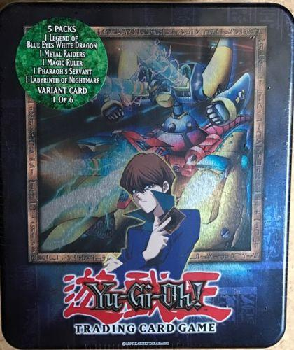 YuGiOh XYZ Dragon Cannon Colectible Tin w/ Cards Factory Sealed