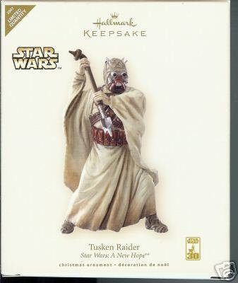 New! Hallmark~STAR WARS~Tusken Raider~2007 LIMITED ED Ornament