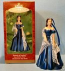 PORTRAIT OF SCARLETT~Hallmark PORCELAIN Christmas Ornament 2001~GONE with the Wind- NEW