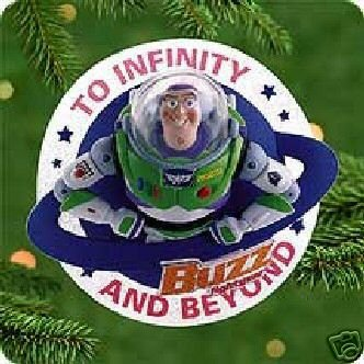 New: Hallmark TOY STORY~BUZZ LIGHTYEAR~ Disney~2000 Ornament~RARE