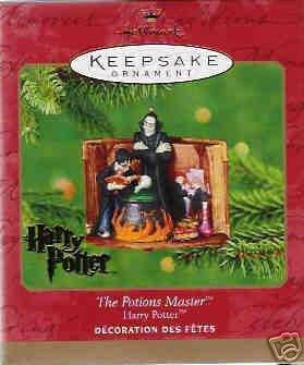 THE POTIONS MASTER~HARRY POTTER~Hallmark 2001 Ornament