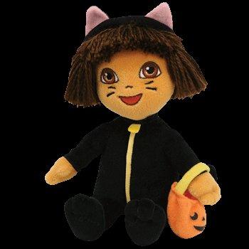Ty DORA the Explorer~Cat Halloween Costume~Beanie Baby