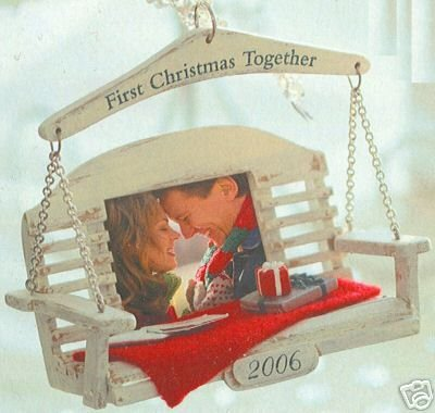Hallmark 2006 Our First Christmas Together Christmas Ornament Add Photo