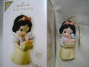 Hallmark Porcelain SNOW WHITE 2008 Christmas Ornament~Precious Moments~Disney~Limited Edition