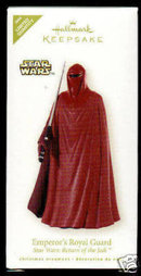Hallmark EMPEROR's ROYAL GUARD~Star Wars Return of the Jedi~Limited Ed. 2008 Christmas Ornament