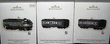 Hallmark 2008 LIONEL New York Central~3 Trains