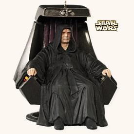 Star Wars EMPEROR PALPATINE~Hallmark 2008 Ornament~12th in Series