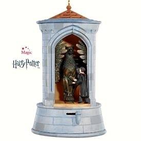 New! HARRY POTTER~The GARGOYLE GUARD~Hallmark 2008 Ornament~Sound/Motion w/ Batteries