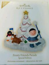 2009 Hallmark FROSTY FRIENDS PARADE ~Christmas Ornament~Special Edition