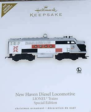 Hallmark LIONEL New Haven Locomotive~LIMITED Edition~Repaint Metal Train