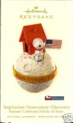 SNOOPY Hallmark 2008 Peanuts NASA 50 Years Ornament