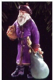 Hallmark, 1995  Merry Olde Santa~6th in Ornament Series