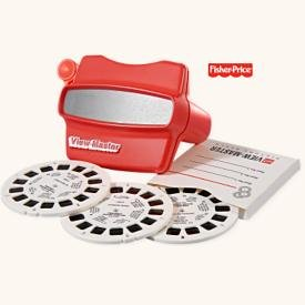 New! Hallmark VIEW-MASTER+3 PICTURE REELS~Fisher-Price~2008 Christmas Ornament