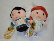 New! Wedding Ariel & Eric Hallmark Itty Bittys 2015 Little Mermaid Disney