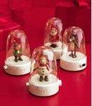 2008 Hallmark REINDEER~HAPPY TAPPERS~Songs & Dances~Christmas Table Top Display