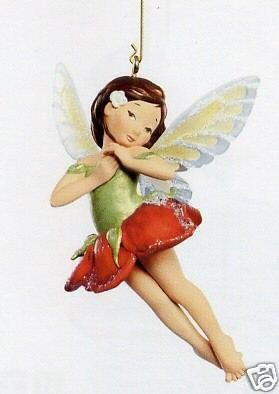 New! Hallmark ROSE FAIRY 2007 Christmas Ornament~Fairy Messengers #3