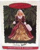 1996 Hallmark HOLIDAY BARBIE #4~ Christmas Ornament