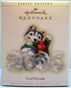 New! 2006 Hallmark COOL DECADE Christmas Ornament~7th in series