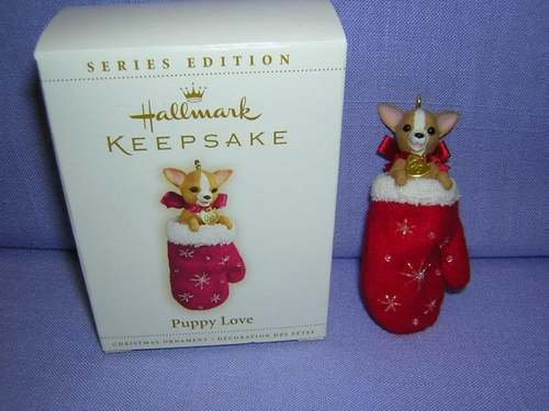 2006 Hallmark PUPPY LOVE ~Christmas Ornament~#16