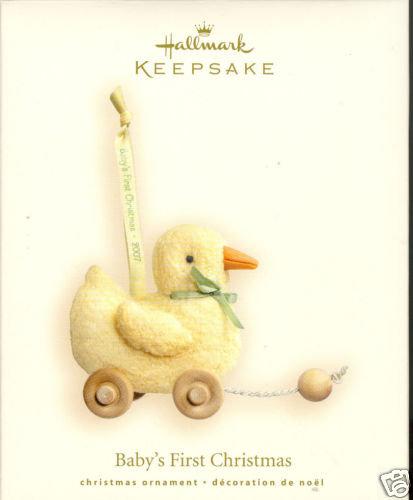 2007 Hallmark BABY'S FIRST CHRISTMAS ~Ornament~