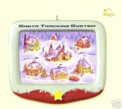 2007 Hallmark SANTA TRACKING SYSTEM ~Christmas Ornament~ Light and Sound