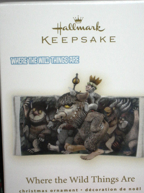 2009 Hallmark WHERE THE WILD THINGS ARE Christmas Ornament