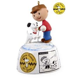 2009 Hallmark PEANUTS 60TH ANNIVERSARY Christmas Ornament