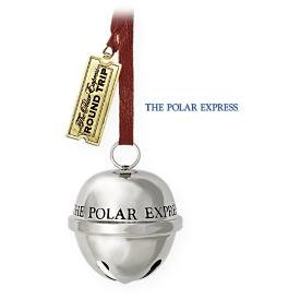 New! Hallmark Polar Express~SANTA'S SLEIGH BELL Christmas Ornament 2009