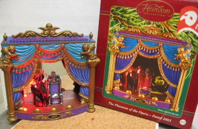 2003 Carlton PHANTOM of the OPERA Ornament #5 & Final~Music & Light