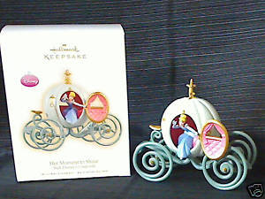 2009 Hallmark Cinderella HER MOMENT TO SHINE Christmas Ornament