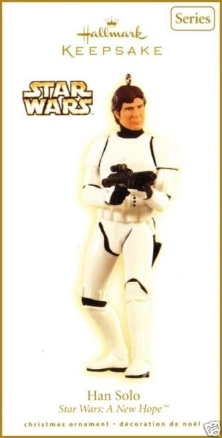 2009 Hallmark HAN SOLO~Star Wars Christmas Ornament