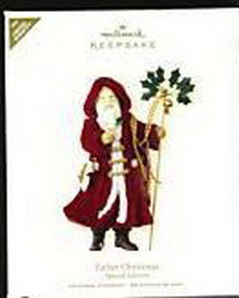 New! Hallmark FATHER CHRISTMAS Repaint/Colorway~Limited Edition 2007 Ornament