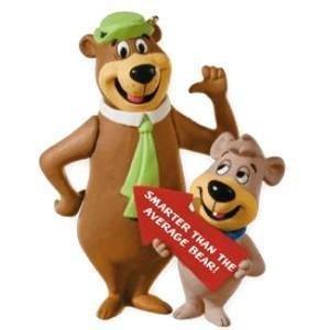 Hallmark 2010 YOGI BEAR and BOO BOO Smarter Than the Average Bear