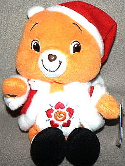 New CHRISTMAS AMIGO SANTA CARE BEAR  8