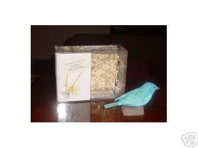 INDIGO BUNTING~Marjolein Bastin~Birds at My Window~Hallmark~Nature's Sketchbook