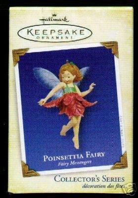New! 2005 Hallmark POINSETTIA FAIRY Messengers # 1 Christmas Ornament