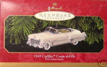 1999 Hallmark 1949 CADILLAC COUPE DE VILLE Christmas ornament