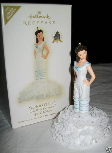 SCARLETT O'Hara GONE WITH The WIND Hallmark 2009 Christmas Ornament LE