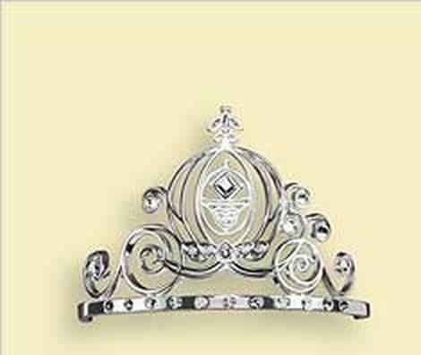 Always A Princess TIARA Hallmark Ornament w/ SWAROVSKI Crystals 2006