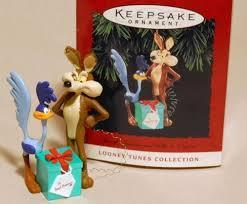Roadrunner & Wile E Coyote 1994 Hallmark Ornament