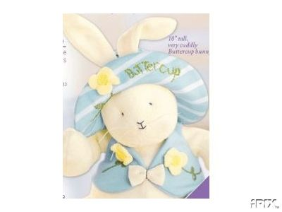 BUTTERCUP Hallmark Easter Cuddly Plush Bunny
