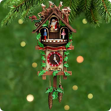 TIME For JOY Hallmark Musical Moving CLOCK Ornament
