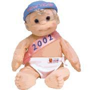 BABY 2002 Ty Beanie Kid